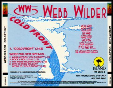 Webb Wilder Tour